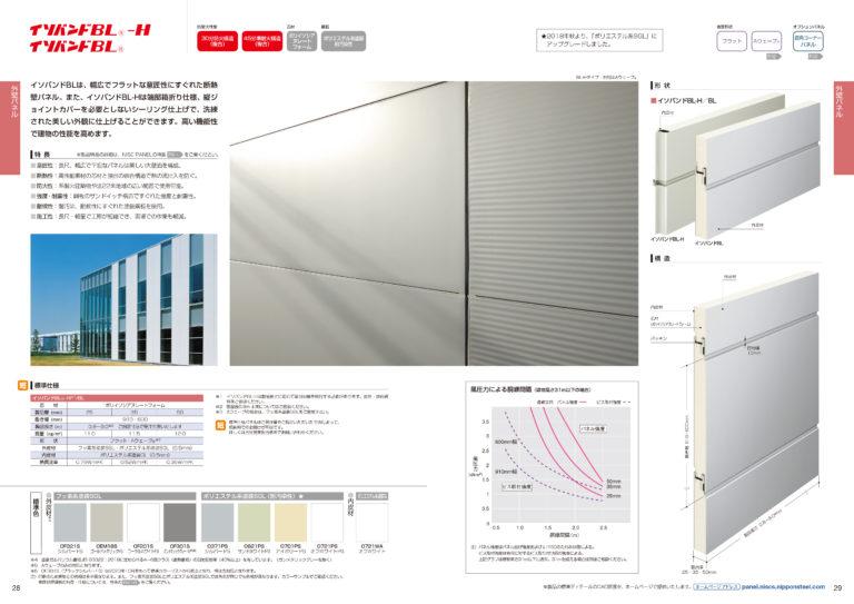 NISCパネルシリーズ製品カタログ