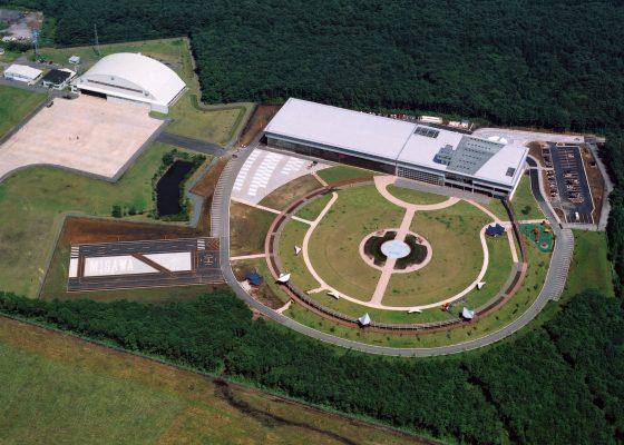青森県立三沢航空科学館の施工事例