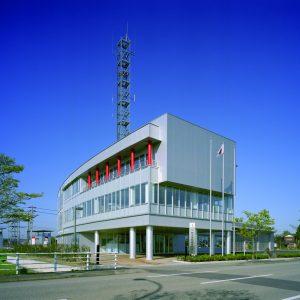 射水消防組合庁舎の施工事例