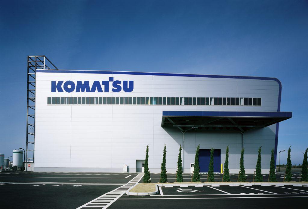 コマツ 金沢工場