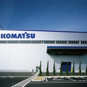 コマツ 金沢工場の施工事例