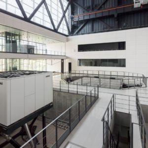 清水建設技術研究所 先端地震防災研究棟の施工事例