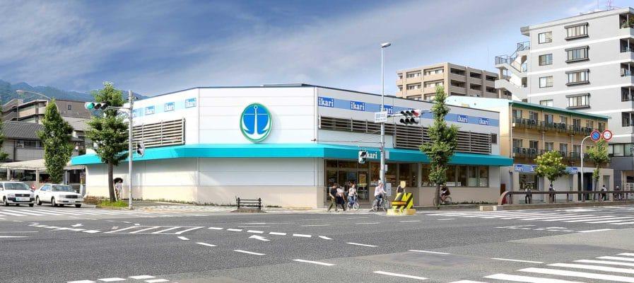 いかりスーパーマーケット 御影店の施工事例