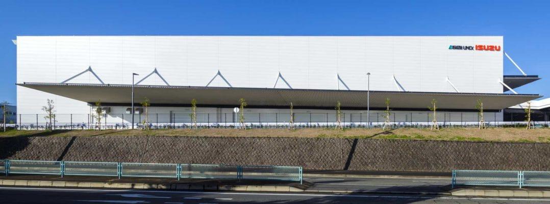 いすゞ自動車 藤沢物流センターの施工事例