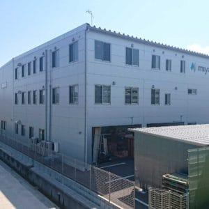 株式会社ミヤジ 福山支店 新社屋の施工事例