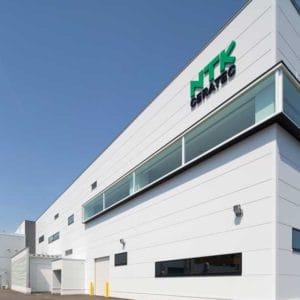 株式会社NTKセラテック 本社第三工場の施工事例