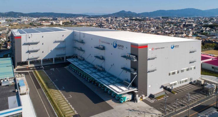 ニッセイロジスティクスセンター 大阪松原の施工事例