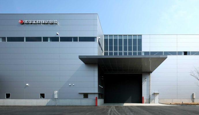 太平工材株式会社 新工場の施工事例