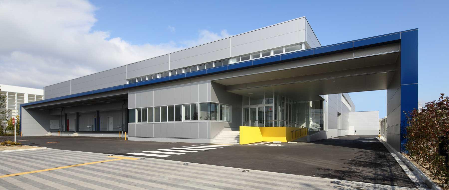 豊中市立走井学校給食センターの施工事例